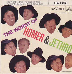 Album cover: the worst of homer and jethro